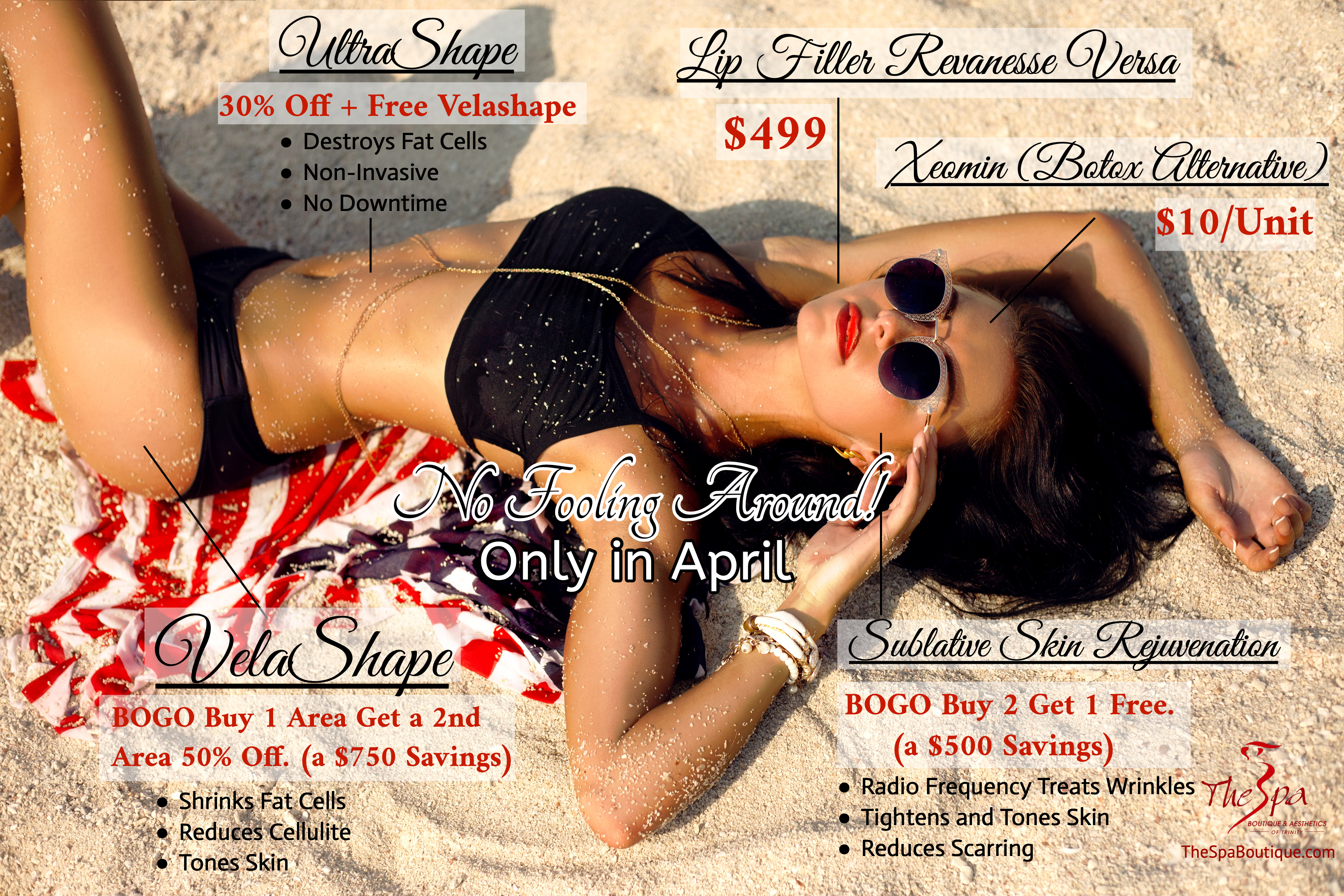 Limited Time April Specials